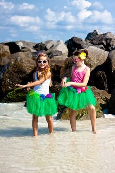 hula girl tutus from Atutudes on Etsy