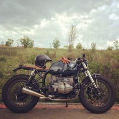 """8,384 Me gusta, 64 comentarios - Motor Company (@caferacerdreams) en Instagram: """"Spring rain in Madrid... Love it!! #crd61 by @caferacerdreams #motorcycle #motorcycles #crd…"""""""