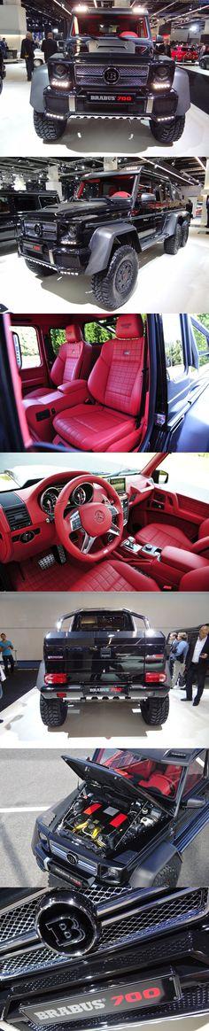 2013 Brabus B63S based on the Mercedes-Benz G63 AMG 6x6, 2013 Frankfurt Auto Show
