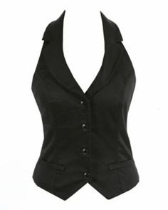 Gilet femme style barman taille S
