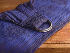 Facade Damson, ring sling with Hemp. Made in the UK by Oscha Slings