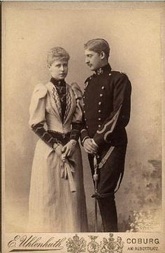 Their Royal Highnesses Crown Prince Ferdinand and Crown Princess Marie of Romania. Michael I Of Romania, Queen Mary, King Queen, Romanian Royal Family, Vintage Photos, Old Photos, Adele, English Royalty, George Vi