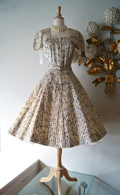 50s Dress // Vintage 1950s Sophie's Originals by xtabayvintage, $398.00