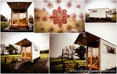 TINY HOUSE TRUCK. Giving up the rat race and living simply in a mobile home.