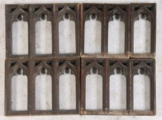 Gothic Tracery 1/2 wall..