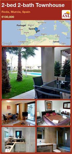 2-bed 2-bath Townhouse in Roda, Murcia, Spain ►€130,000 #PropertyForSaleInSpain