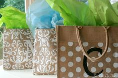 Customize Hobby Lobby Bags for Mothers Day or Teacher Appreciation - Top This Top That