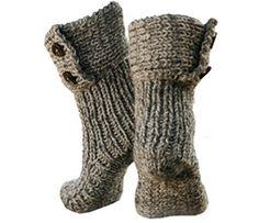Breipatroon Sokken: Moon Socks