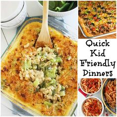 Quick Kid-Friendly Dinners