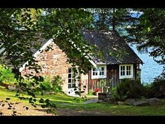 A Small Traditional Stone Cottage in Ullapool, Scotland   Small House Design - YouTube