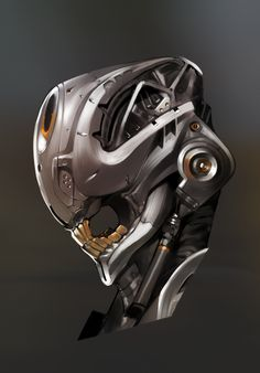 buck teeth by Hagglefish on deviantART Robot Concept Art, Armor Concept, Robot Art, Character Concept, Character Art, Character Design, 3d Mode, Cool Robots, Sci Fi Armor