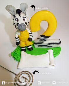 ...ele-ganza...: #caketopper #compleanno zebra #zou #toppercake #topcake #sopratorta #birthdayparty #festacompleanno #cakedecoration #modelling #clay #fondant #cakefigurine