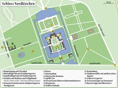 Map of the Castle Nordkirchen - Schloss Nordkirchen – Wikipedia