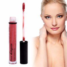 2017 Liquid Lipstick Waterproof Non-stick Long Lasting Red Pink Metal Lip Gloss Tatto Cosmetic
