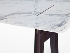 Pierre Dining table designed by Tristan Auer for @Holly Hanshew Hanshew Elkins HUNT DESIGN
