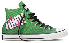 Uno Green Day Converse