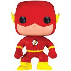 Part of the Pop! Heroes series The Flash joins the Funko family! The Flash vinyl figure stands approximately 3 ¾ inches tall and comes packaged in a window display box. Collect all nine super heroes in the Pop! The Flash, Flash Tv, Pop Vinyl Figures, Funko Pop Figures, Reverse Flash, Funko Pop Toys, Funko Pop Vinyl, Funko Pop Marvel, Funko Flash