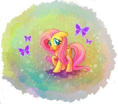 MLP: Fluttershy by YukiHyo on DeviantArt