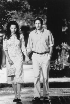 """Return to Me (2000) ~ David Duchovny, Minnie Driver. I always forget how much I adore this movie until I see it again. So many things to love about it.  """"I miss Elizabeth, I'll always miss Elizabeth.  But, I ache for Grace."""" Sniff."""