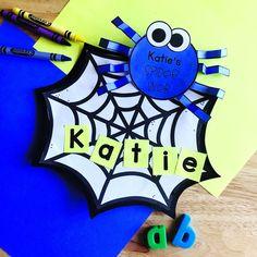 Name Activities Preschool, Preschool Calendar, Fall Preschool, Autumn Activities, Kindergarten Activities, Preschool Curriculum, Homeschooling, Math Crafts, Preschool Crafts