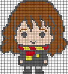 Harry Potter Perler Beads, Harry Potter Crochet, Harry Potter Diy, Cross Stitch Art, Cross Stitching, Cross Stitch Embroidery, Cross Stitch Patterns, Harry Potter Cross Stitch Pattern, Modele Pixel Art