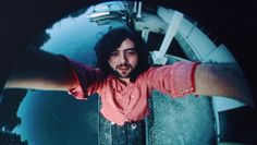 A self-portrait of Jimmy Page taken at his home, The Thames Boathouse in Pangbourne, Berkshire. This photo was snapped just before the release of Led Zeppelin III in 1970.