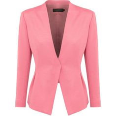 Donna Karan Stretch Twill Jacket