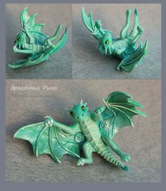 Dragon baby Rino - for sale by hontor.deviantart.com