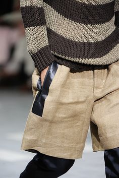 Dries Van Noten Spring 2012 Menswear Fashion Show Details