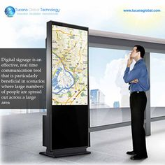 #DigitalSignage is an #effective, real time #communication tool that is #particularly #beneficial in #scenarios where large numbers of people are spread out across a large area. #TucanaGlobalTechnology #Manufacturer #HongKong