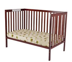 Dream On Me Synergy5 in 1 Convertible Crib, Cherry  http://www.mytimehome.com/dream-on-me-synergy-5-in-1-convertible-crib-cherry-2/