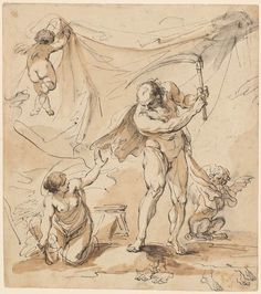 Biagio Rebecca | Time Withstood by the Arts | Drawings Online | The Morgan Library & Museum