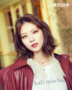 Gong Seung Yeon in Nylon Korea March 2018 Asian Actors, Korean Actresses, Korean Actors, Actors & Actresses, Seo Kang Joon, Jung So Min, Korean Star, Korean Girl, My Shy Boss