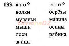 ГДЗ 133 - Русский язык 1 класс Рамзаева