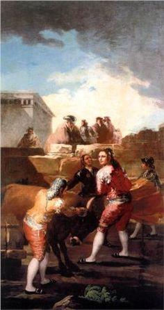 La novillada - Francisco de Goya