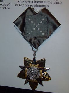 Confederate Medal of Honor by peachy92, via Flickr