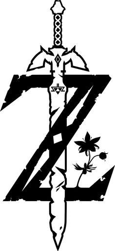 Logo clipart zelda #9