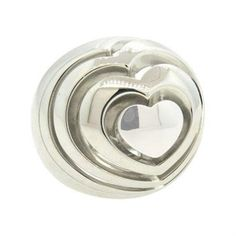 Chopard Xtravaganza Large 18k Gold Heart Dome Ring