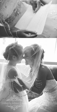 Royal Oak Wedding Photographers / Weddings by Adrienne & Amber #royaloak #weddings #photography #weddingsbyaa #detroit #royaloak #bride #flowergirl #letterfromthegroom #details #gettingready