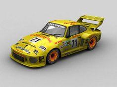 Dick Barbour Racing #71 Porsche 935 24H Le Mans 1979 (mister_ghanja) Tags: roy woods dick bob racing rob mans le porsche hawaiian tropic barbour akin 24h 935 imsa sarthe mcfarlin