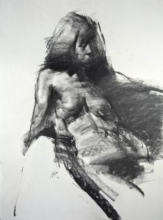"Saatchi Art Artist Zin Lim; Drawing, ""Figure#D06"" #art"