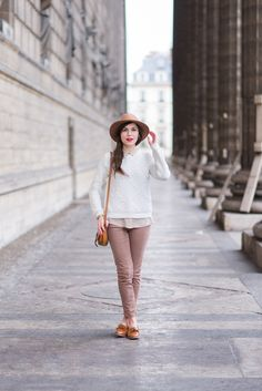 Light color combo | Mode and the City, February 2016 [Original post in French]