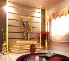 Pooja Room Decor Ideas Home, Tips, Photos, Corner Puja room Designs Temple Room, Home Temple, Mandir Design, Pooja Room Design, Mandir Decoration, Temple Design For Home, Room Deviders, Dressing Table Design, Puja Room