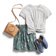 Stitch Fix Casual Summer Outfit Ideas - striped dress summer outfits summer dress outfit blue summer dress outfit blue summer dress outfit outfits baby blue dress - blue dress outfit - Summer Blue Dresses 2019 Casual Summer Outfits, Casual Skirts, Cute Outfits, Outfit Summer, Dress Summer, Casual Tops, Casual Skirt Outfits, Casual Weekend, Fix Clothing