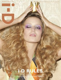 The Royalty Issue No. 318 Spring 2012 Georgia Jagger by Walter Pfeiffer