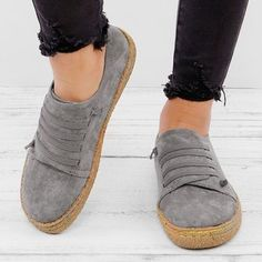 Suede Slip On Soft Loafers Lazy Casual Loafers. Інна · босоніжки 1dc90bfdfcc3a