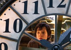 Hugo through the clock....( Hugo  was a good movie. )