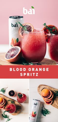 Squeeze some citrus into your next soirée with this Blood Orange Spritz. Must be 21+. Please drink responsibly.