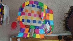 Elmar Laterne... Elefant Design, Elmer The Elephants, Kindergarten, Art For Kids, Lanterns, Art Projects, Religion, Colours, Crafts