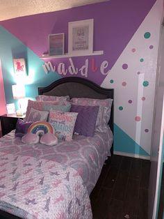 Cute Bedroom Ideas, Room Ideas Bedroom, Pretty Bedroom, Bedroom Decor, Girls Room Design, Girl Bedroom Designs, Girls Bedroom, Baby Girl Room Decor, Pastel Room